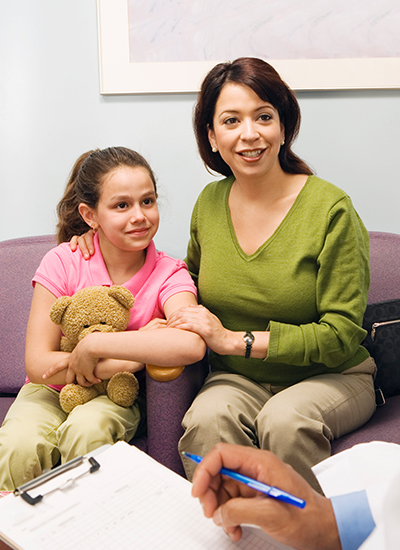 Daughter with Congenital Scoliosis